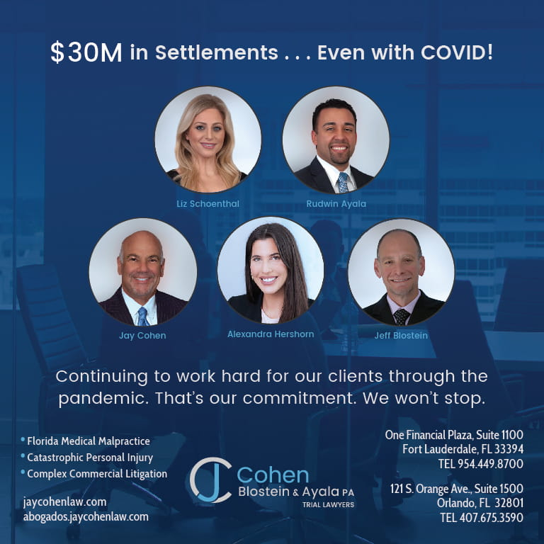 $30M in Settlements Ad