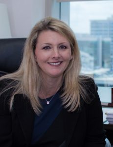 photo of law firm staff member, smiling